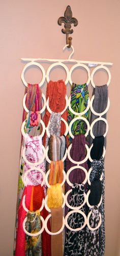 """""""Organize my scarves!"""" I'm a certified scarf lover!"""