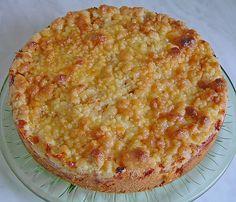 Marzipan - Apfelkuchen mit Streuseln