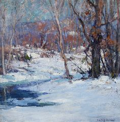 Emile Gruppe, Winter Morning - Emile Gruppe, Winter Morning : Recent Acquisitions