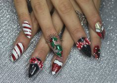 Finger Painted: The One With All The Christmas Nails (Part 2)
