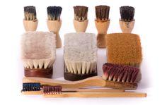 Schuhbürsten reinigen - eine Anleitung