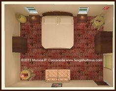 A Bedroom for Love - Form School Feng Shui Bedroom Furniture