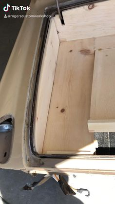 Custom Cutting Boards, Engraved Cutting Board, Custom Classic Cars, Custom Cars, Wood Storage, Hidden Storage, Auto Upholstery, Wooden Trunks, Car Interior Decor