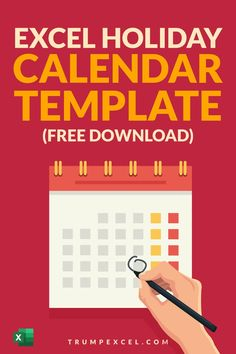 Here's a free Excel holiday calendar template that you can download and instantly know what days the Holidays are. It's dynamic so you can change the year and it would automatically update (as it runs on magical Excel formulas). It will also tell you how many days are left before your next holiday as well as to the number of days left before your next long weekend holiday. Excel For Beginners, Excel Hacks, Excel Calendar, Pivot Table, Holiday Calendar, Microsoft Excel, Day Work, Long Weekend, Computer Keyboard
