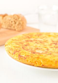 Tortilla or Spanish Omelette | minimaleats.com #vegan