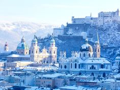 Salzburg, Austria - drink like a local, head to Bräustübl zu Mülln, Austria's largest beer hall, where beer is drawn directly from wooden barrels and can be enjoyed alongside traditional and regional specialties from the Schmankerlgang, an Old World food court of sorts.
