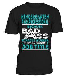 Kindergarten Paraprofessional