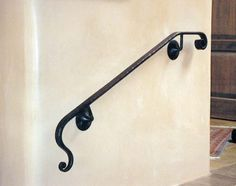 Simple Handrail 2 Outdoor Handrail, Metal Handrails, Hand Railing, Iron Stair Railing, Iron Art, Home Safety, Outdoor Sculpture, Fence Design, Elevator