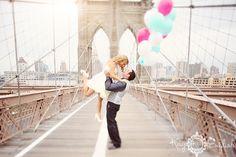 Brooklyn Bridge engagement by Kay English Photography #brooklynwedding #brooklynengagement #nycweddingphotography