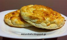 Όλα για τη δίαιτα Dukan: Τυρόψωμα χωρίς ανεκτά
