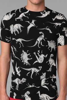 Character Hero Dinosaur Tee something cheeky Cool Tees, Cool Shirts, Tee Shirts, Shirt Men, Under Armour, Look Cool, Just In Case, Urban Outfitters, Cool Outfits