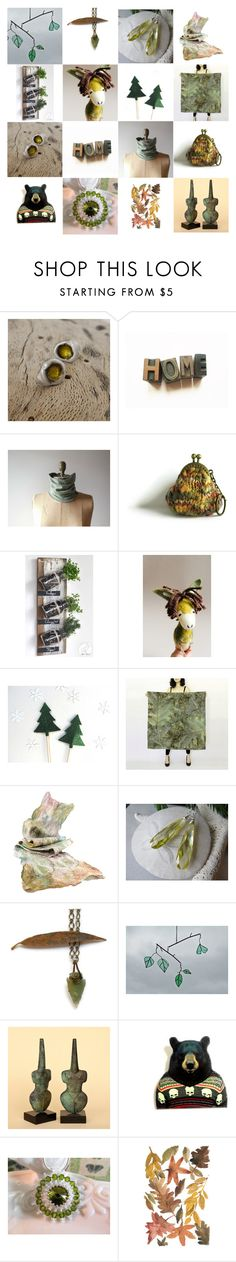 """Handmade gifts from Etsy"" by apple-named-doris ❤ liked on Polyvore"