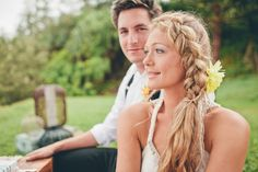 tresse coiffure mariée bohème