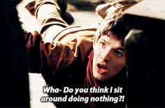 Gif set of the famous Merlin Speech. And scroll down for a bonus of Merlin looking like an adorable kitten. ^_^