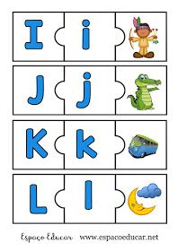 JOGO PEDAGÓGICO EDUCATIVO DE ALFABETIZAÇÃO PARA IMPRIMIR COLORIDO - SOM INICIAL ALFABETO - ESPAÇO EDUCAR Arabic Alphabet Letters, Alphabet Tracing, Alphabet Worksheets, Alphabet Activities, Preschool Worksheets, Phonics Games, Preschool Lesson Plans, Montessori, Classroom