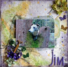 scrap the boys october challenge - Scrapbook.com