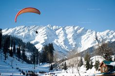 Solang Valley In Manali Is Going To Hold It's First-Ever Paragliding Competition  >>>   One can witness the first ever paragliding competition in Solang valley near #Manali, #Himachal Pradesh.  This will occur on the 1st November and the main purpose of this competition is to promote tourism. When NGT ordered to ban all commercial activities in Solang, #paragliding remained completely shut for one year. Before the ban, #Solang would attract a large number of tourists.