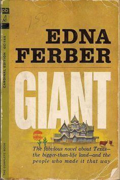 1952 Edna Ferber - Giant