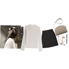 Untitled #294 by chromatography on Polyvore featuring Helmut Lang, Valentino, John Hardy and Repetto