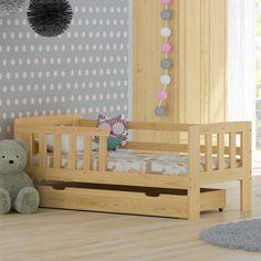 Das #Kinderbett MM01 Besteht Komplett Aus Natürlichem #Kieferholz. #bett  #holzbett #