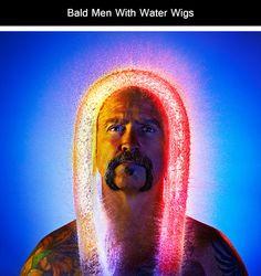 pelucas de agua