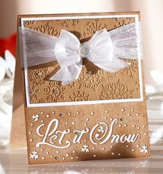 Christmas dies with sentiments - Crafter's Companion Portfolio
