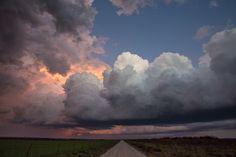 10-13-12 Olney, TX -Storm at Twilight