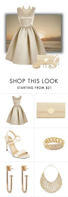 """Neutral Zone"" by stileclassico ❤ liked on Polyvore featuring Kate Landry, Stuart Weitzman, Shay and Jamierocks"