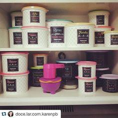 #Repost @doce.lar.com.karenpb with @repostapp. ・・・ Sou apaixonada por essa linha de potes ...