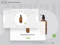 Slideshow de produits, avec une anim vers la page single produit
