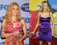 Carrie Underwood - Before and after