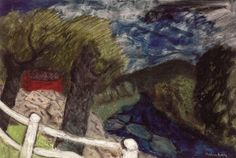 The Blue Brook, Vermont - Milton Avery - The Athenaeum