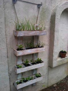 herb planter for sale | Rustic Wooden Herb and Vegetable Planter