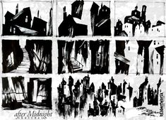 german expressionist architecture drawing - Google Search