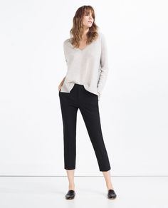 Image 1 of CHINO TROUSERS from Zara