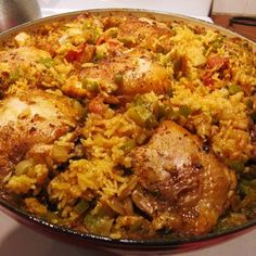 Mama Ozzy's Table: Arroz con Pollo (Cuban Chicken with Rice) More from my site Mama's Puerto Rican Chicken and Rice (Arroz con Pollo) Arroz Con Pollo Recipe Cuban Chicken, Pollo Chicken, Chicken Rice, Spanish Chicken, Puerto Rican Chicken, Pollo Recipe, Arroz Con Pollo Cuban Recipe, Cuban Dishes, Cuban Cuisine