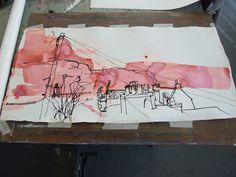 Kate Downie masterclass at The Creative Retreat