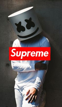 Marshmellow for Supreme by Louis Vuitton - Hochzeitsgeschenk Supreme Wallpaper Hd, Hype Wallpaper, Graffiti Wallpaper, Screen Wallpaper, Cool Wallpaper, Wallpaper Backgrounds, Tela Do Iphone, Marshmello Wallpapers, Hypebeast Wallpaper