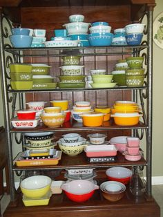 my pyrex collection