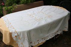 Brocante en ligne de linge de maison et dentelles anciennes - Le linge de jadis - Linge ancien - Antique & vintage French linen