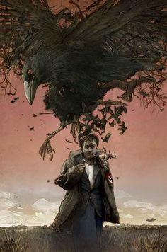 "Crows Ravens:  #Raven ~ ""Sturmvogel,"" by Studio K."