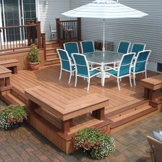 small deck ideas for mobile homes.Just because you have a tiny backyard doesn't suggest you can't have a stylish deck. Learn the building demands and also Small Deck Designs, Patio Deck Designs, Patio Design, Small Deck Patio, Diy Deck, Small Decks, Enclosed Patio, Small Yards, Deck Furniture