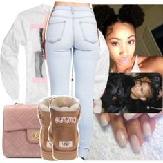 Outfits with UGG's