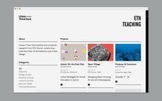 Urban-Think Tank's website on Behance