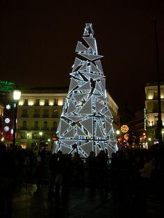 https://flic.kr/p/6d6SyN | Christmas tree in Puerta del Sol | The Christmas tree in Sol