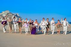 sunset beach wedding | Pueblo Bonito Sunset Beach Wedding Photography By Alec and T : Alec&T