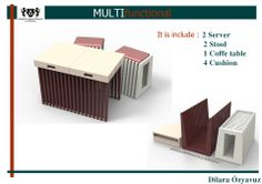 MY 'DIY' PROJECT. MULTIFUNCTIONAL SEATS. '''HOW CAN WE USE İT ?'''