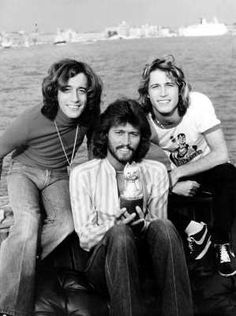 Robin, Barry and Andy Gibb
