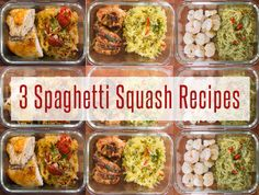 5 Healthy Meal Prep Recipes For Weight Loss | FlavCity Pastas Recipes, Diet Soup Recipes, Healthy Meal Prep, Healthy Foods To Eat, Healthy Dinner Recipes, Healthy Snacks, Vegan Recipes, Edamame, Food Cakes