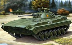 Drawings of Russian Army Scout Vehicles